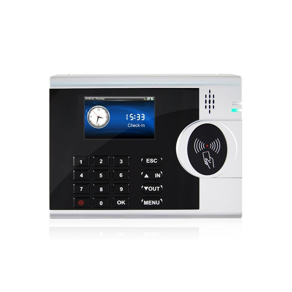 Máy chấm công thẻ cảm ứng màn hình màu S400-C